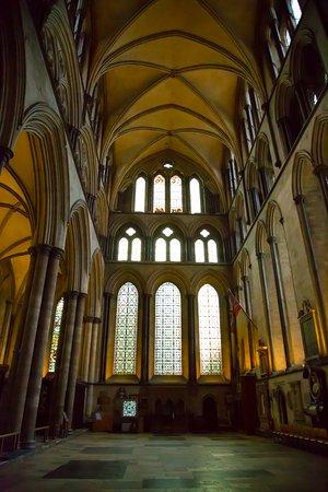 Salisbury Cathedral - beautiful use of light
