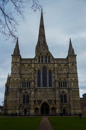 Salisbury Cathedral - another view