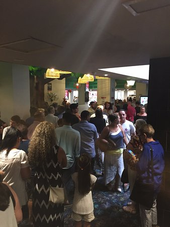 Tweed Heads, Australie : awful line