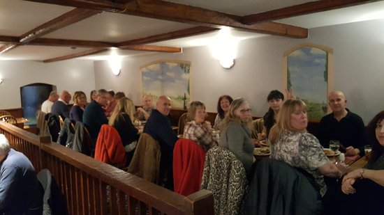Bridgwater, UK: All of us enjoying the amazing food at Admirals...love this place!❤xx