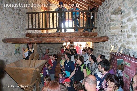 El Pueyo de Araguas, Spain: Interior molino harinero en Los Molinos