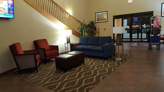 Ponca City, OK: Lobby