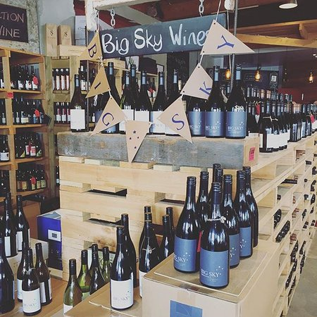 The Village Cafe: Big Sky Wines - such a great wine!