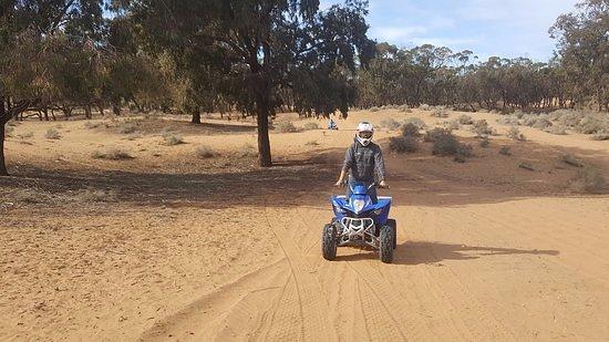 Amodou Cheval: agadir quad bike
