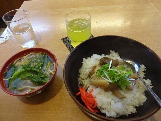 Garden Asahi: ラフテー丼セット