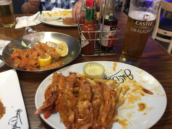 Shelly Beach, Südafrika: Again I wasn't dissapointed. Great prawns, my favourite place. Keep it up. Me and my friends fre