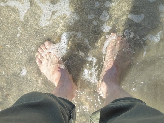 Kotu Beach: 冷たかった