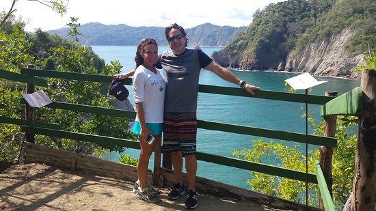 Herradura, Costa Rica: On top of Tortuga island