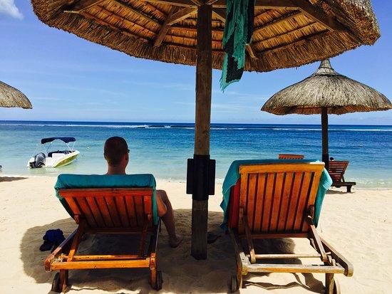 Le Meridien Ile Maurice: Postkarten Bild am Strand