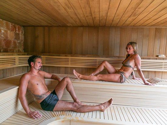 SPA Le Ranolien : Sauna