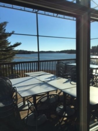 Kittery, ME: Outside Patio - Seasonal