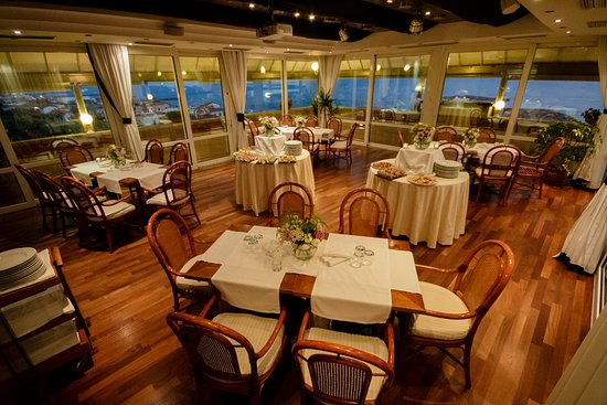 Marina di Cecina, Italia: panoramic dining
