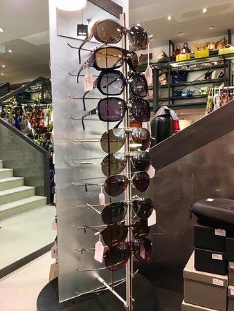 Bagno a Ripoli, อิตาลี: Sunglasses corner @ Piero Tucci's ShowRoom