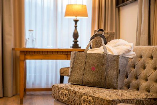 Sankt Johann im Pongau, Österrike: Zimmer im Hotel Oberforsthof