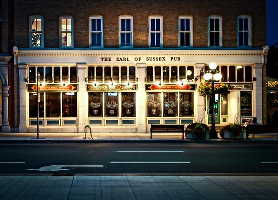 Earl Of Sussex Pub: The Earl of Sussex