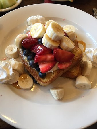 Wakefield, MA: this was called Sweet Morning Stuffed French Toast described in review.