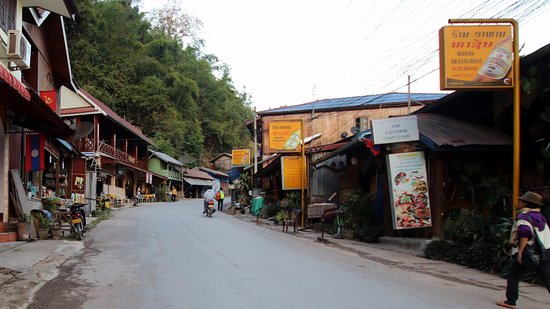 Pakbeng, Laos: Street Entrance