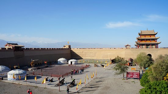 Jiayuguan, China: Main compund