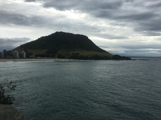 Mount Maunganui, New Zealand: From outcropping