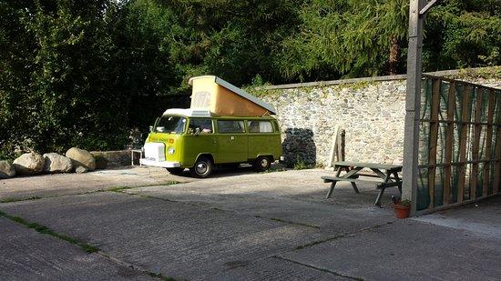 Llanfairfechan, UK: Camper van pitch
