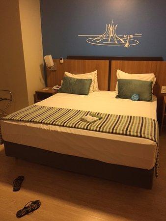 Taguatinga, DF: cama muito confortável