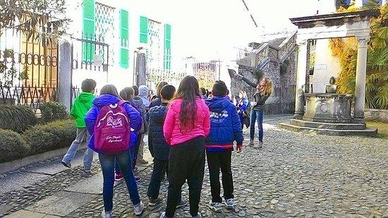 Pella, Italie : gita sull'Isola di San Giulio