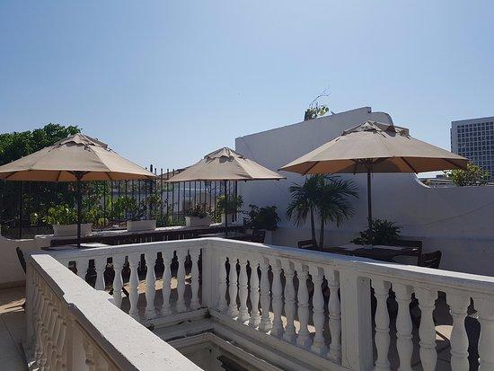 Terraza Para Desayunar Picture Of Hotel Casa Los Puntales