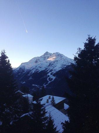Vue du châlet Le Tyrol