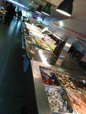 La Valette-du-Var, Prancis: les buffets