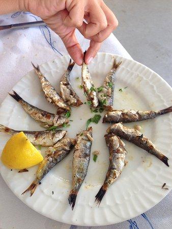 Λαδικό, Ελλάδα: Sarde alla griglia...