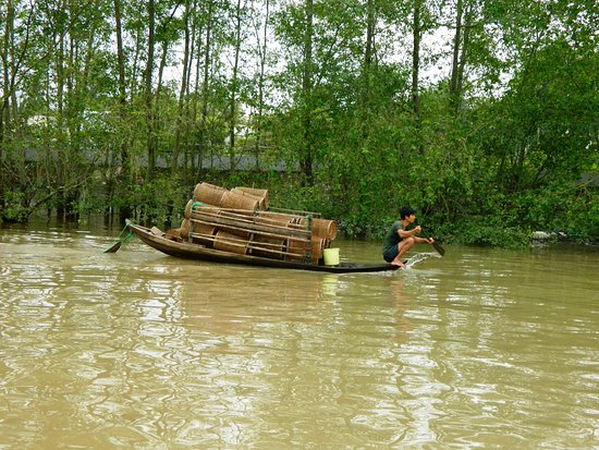 Oasis Hotel: Boat trip on the Mekong with Hong