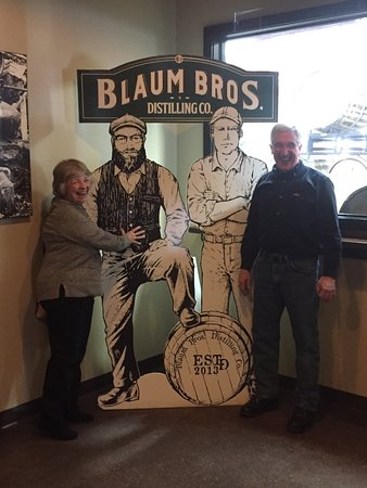 Galena, IL: With the Blau Brothers cutout. Someday I'd like a picture with the brothers themselves.
