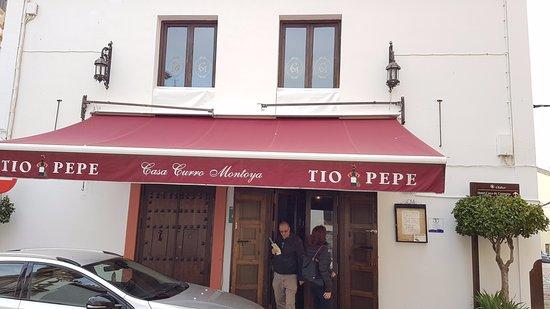 Carmona, Spanyol: L'esterno del locale