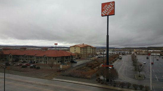Gallup, NM: View from our Top Floor Room facing West
