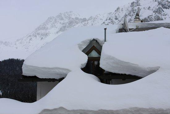 Lenzerheide, Switzerland: Genügend Schnee