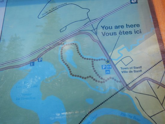 Map detail Picture of Fenland Trail Banff TripAdvisor