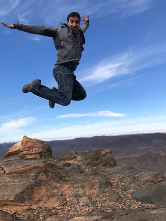 Morocco Active Adventures: Our hilarious and amazing guide Youssef!