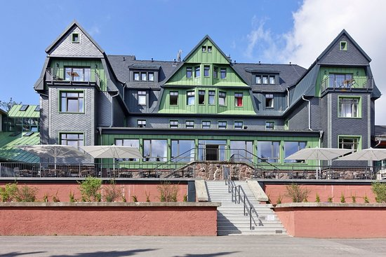 Ilmenau, Jerman: Haupthaus des Hotels