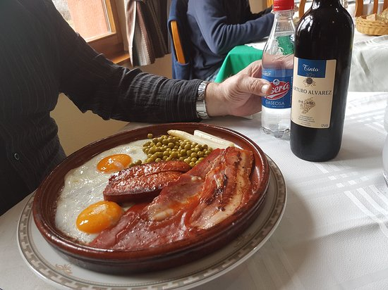 Boca de Huergano, Испания: Restaurante Tierra de la Reina