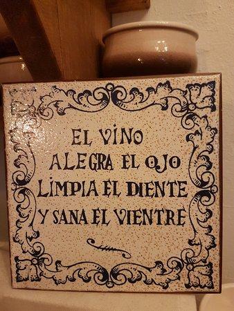 in vino...