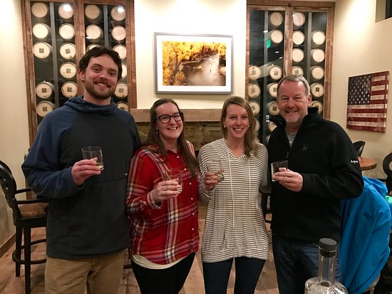 Carbondale, CO: tasting our personal reserve