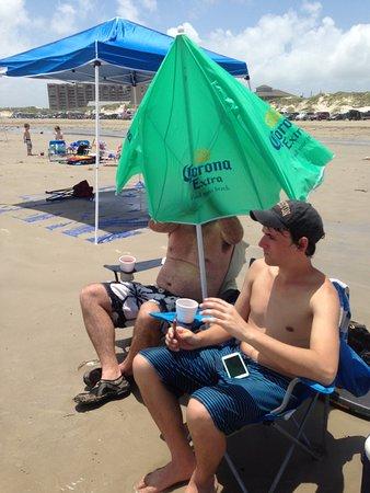Surfside Beach, TX: get some sun