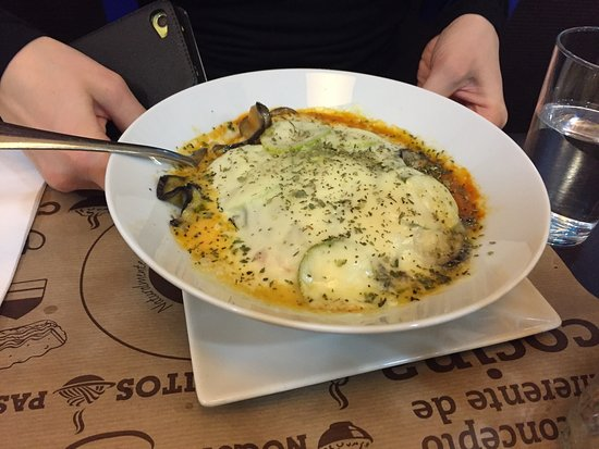 Coki: The vegetarian lasagna was very nice. The   goat cheese burger was interesting, the cheese and j