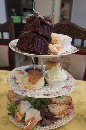 Fowey, UK: High tea at The Dwelling House