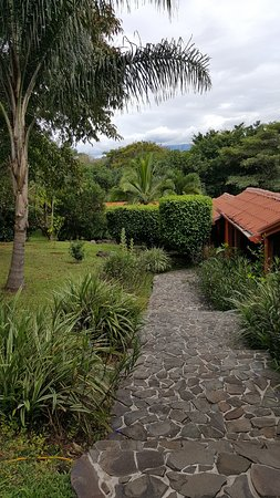 Atenas, Costa Rica: View from the driveway