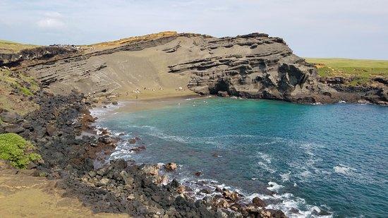 Νααλέχου, Χαβάη: The view at the destination - less green than you'd imagine, but still impressive