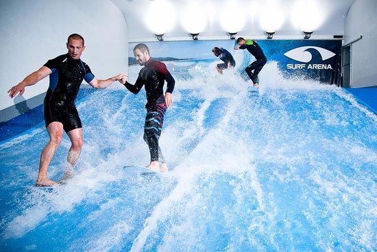 Výsledek obrázku pro surf aréna