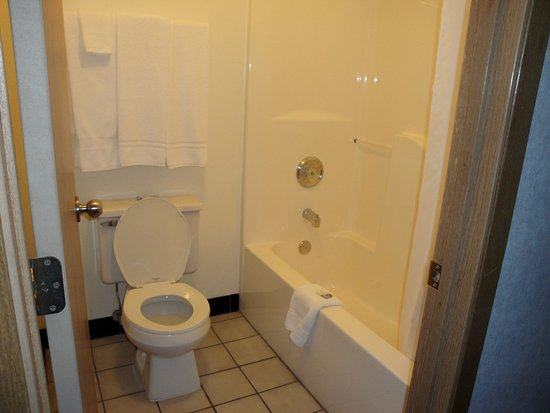 Silver Inn: toilet and tub/shower