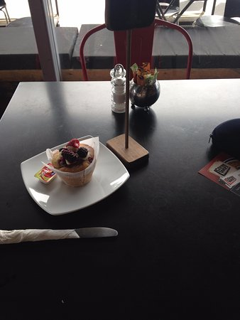 Rangiora, Nueva Zelanda: Sugary muffin
