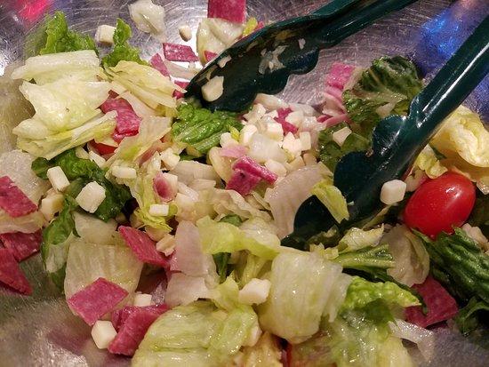 Auburn Hills, MI: Antipasto salad